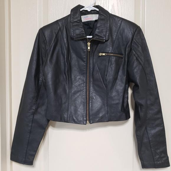 a11ca06d7 Vintage Avon Fashions genuine leather jacket